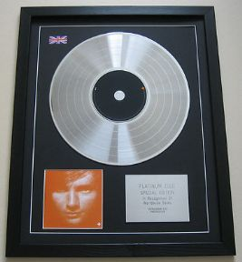 ED SHEERAN - (PLUS) + CD / PLATINUM PRESENTATION DISC